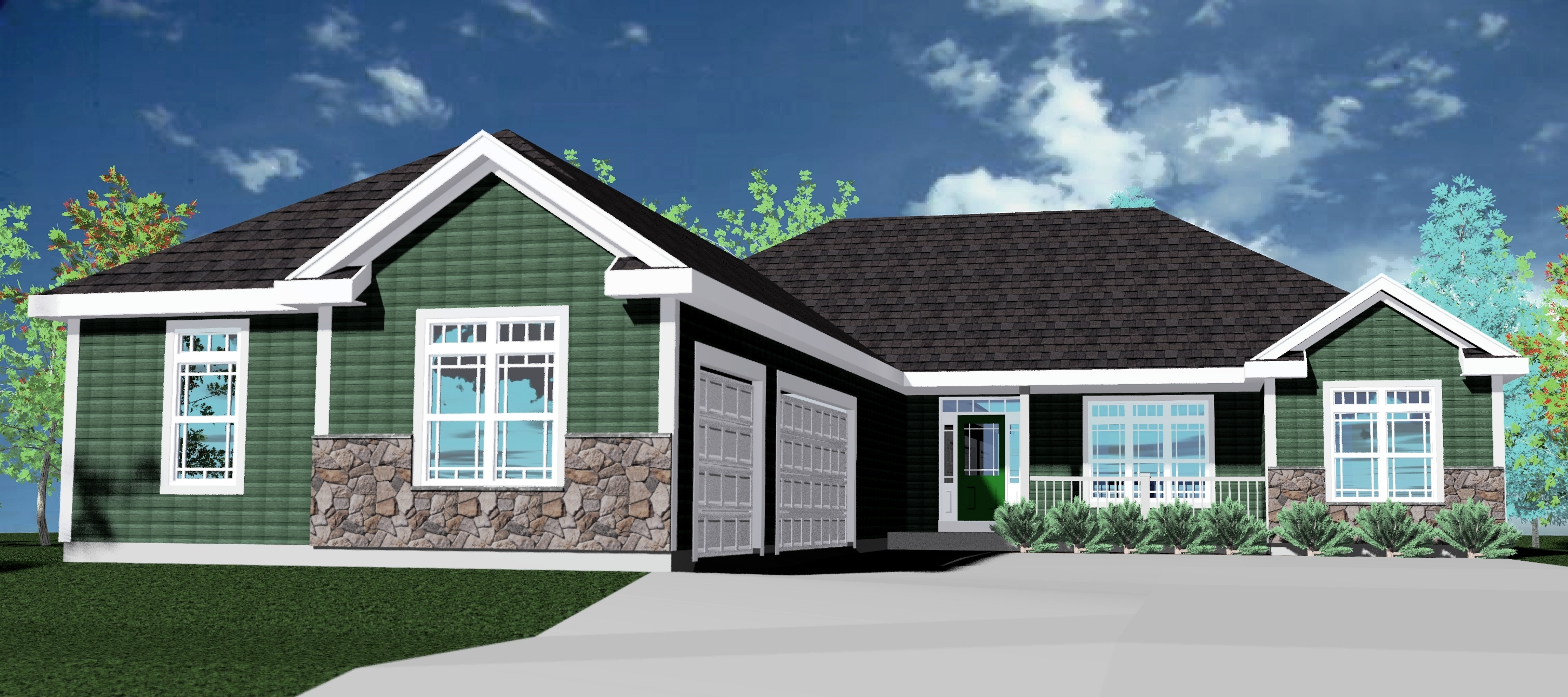 Bluestem Trail Prairiefield Rendering