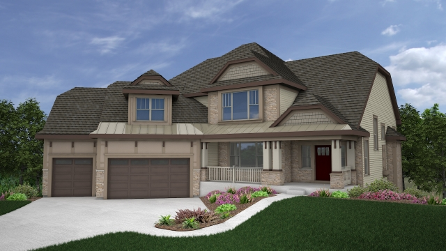 Kaerek Homes Allisa Rendering