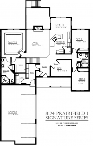 Bluestem Trail Prairiefield Floor Plan