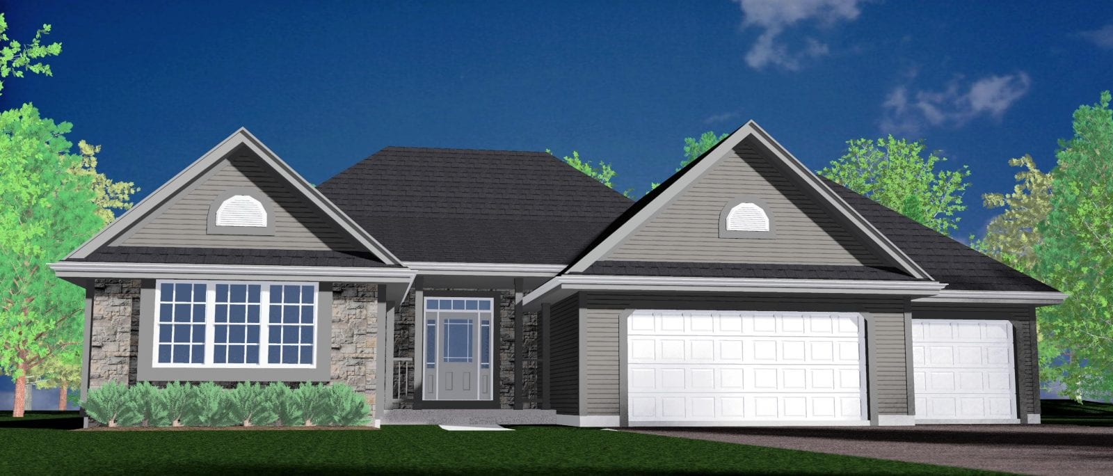 Kaerek Homes Aspen II Rendering