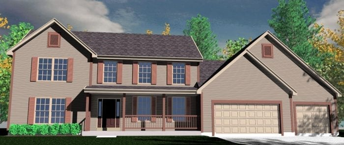 Kaerek Homes Bentley Rendering