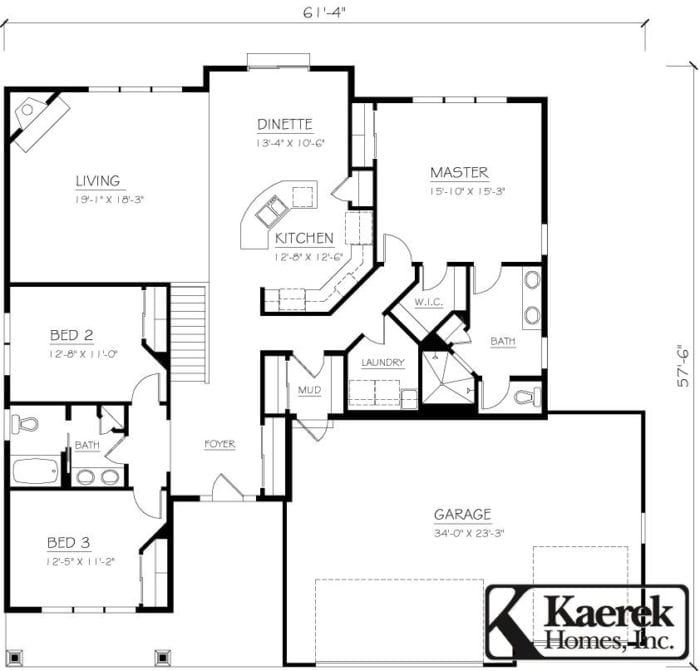 The Briarstone II Floor Plan