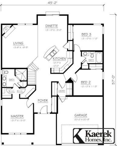 The Briarstone Floor plan