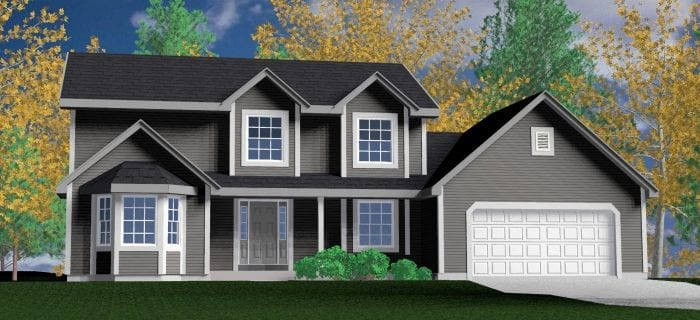 Kaerek Homes Bridgeport Rendering