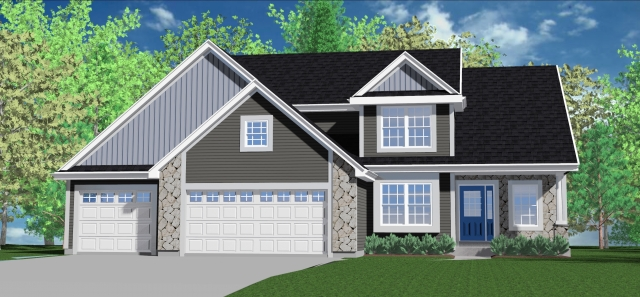 Kaerek Homes Barrington Rendering