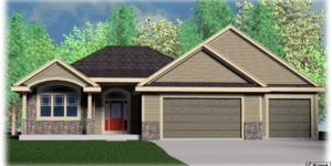 Plans - Kaerek Homes on ranch house plans breezeway garage add, ranch house plans with garage, ranch side-entry, ranch house with three car garage, ranch style house additions entry, ranch style home with garage addition,