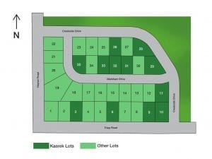 Creekside Commons Lot Plat