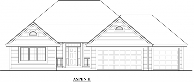 Kaerek Homes Aspen II Elevation