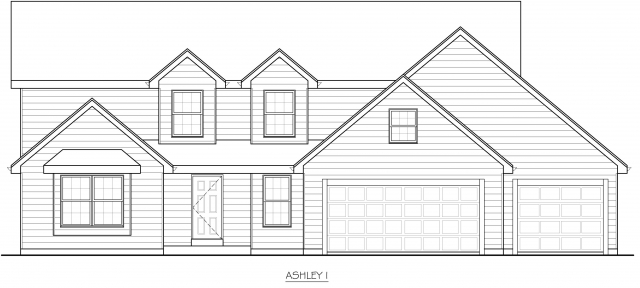 Kaerek Homes Ashley Elevation