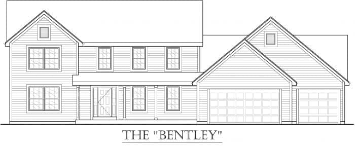 Kaerek Homes Bentley Elevation