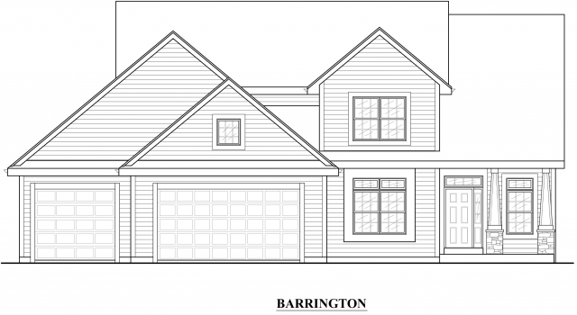 Kaerek Homes Barrington Elevation