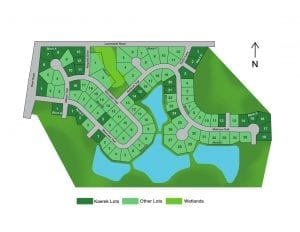 Fox Lake Village Lot Plat