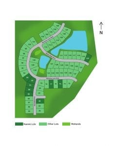 Hickorywood Farms Lot Plat