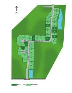 Hidden Oaks Lot Plat