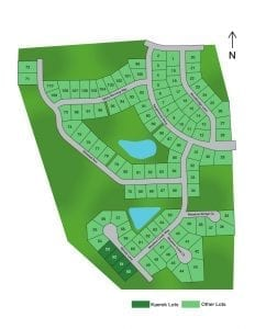 Meadow Creek Crossing Lot Plat
