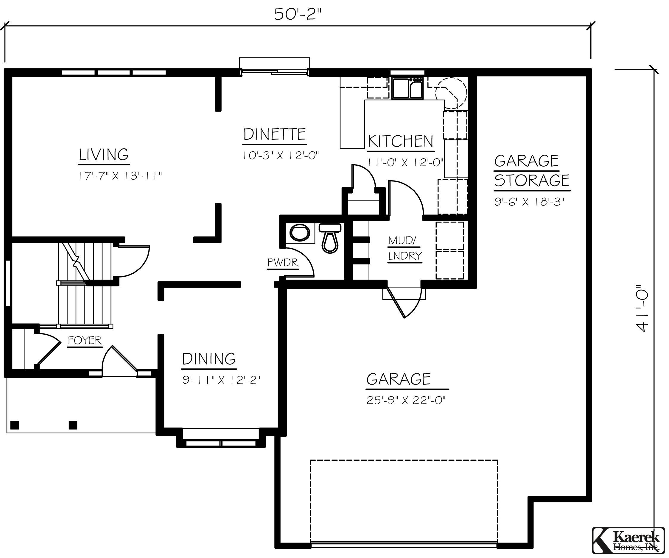 The Wilshire I   First Floor Plan